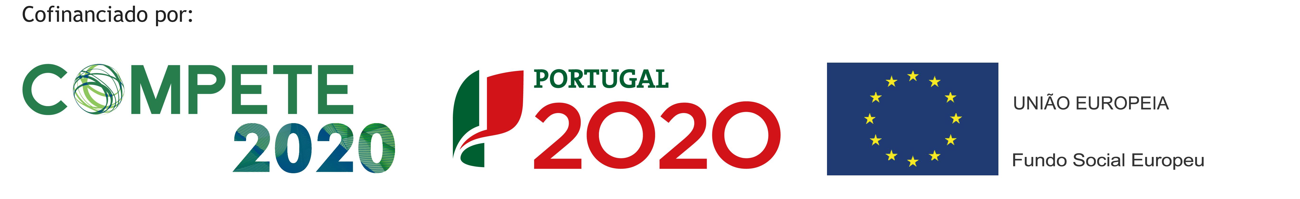 COMPETE 2020; Portugal 2020; UNIÃO EUROPEIA, Fundo Social Europeu