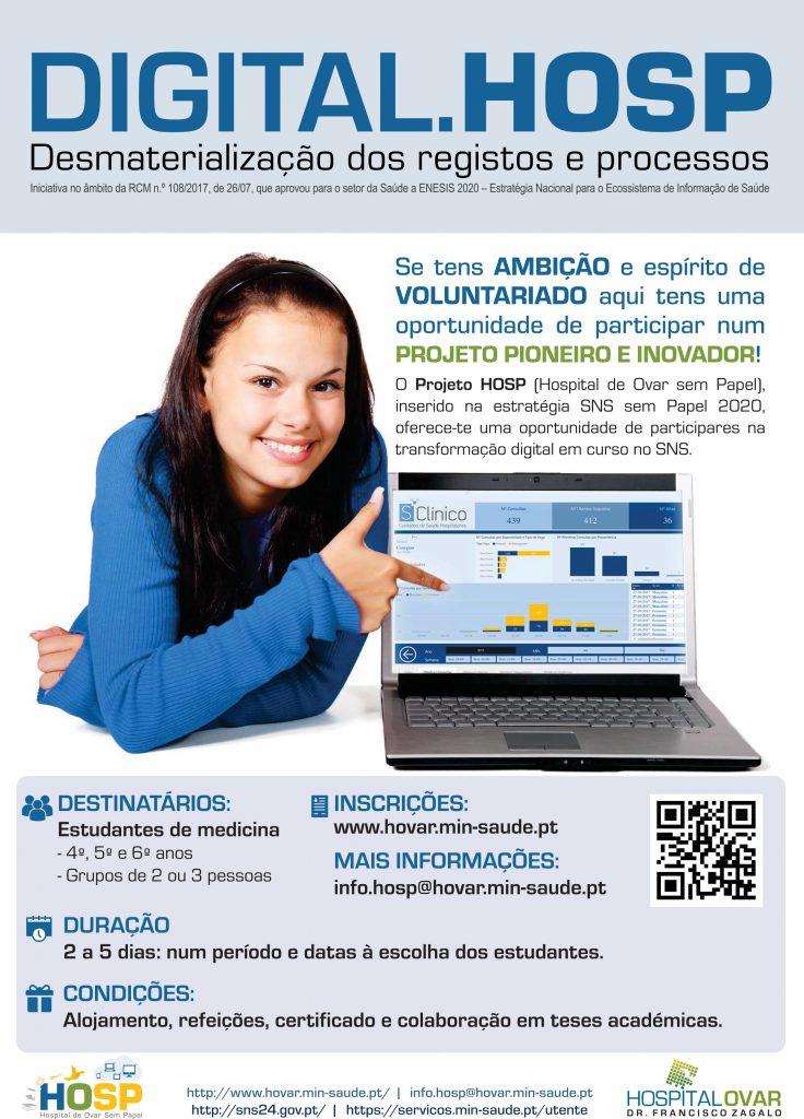 Cartaz Estudantes Digital.HOSP