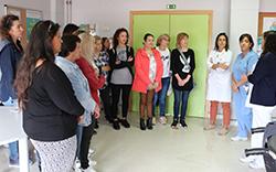 imagem do post do Formandas do Instituto do Emprego e Formação Profissional visitaram hospital