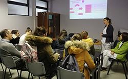 imagem do post do Visita de estudo com alunas da Escola Secundaria José Macedo Fragateiro